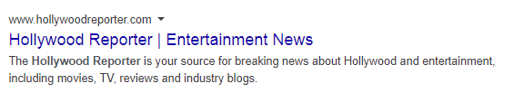 entertainment blog descriptiona